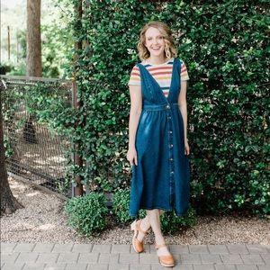 Urban Outfitters Denim Midi Dress